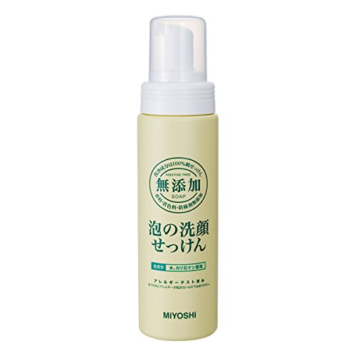Miyoshi Soap | Face Wash | Bubble Face Cleaner Pump 200ml  b