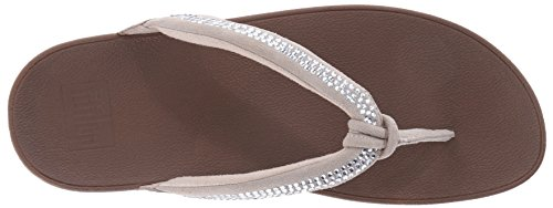 FitFlop Swirl Sc Nuovo 39 Infradito Tg Crystal p4OwqB6