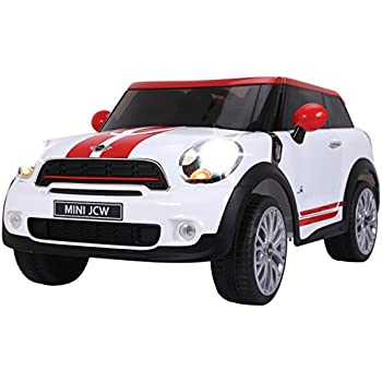 Amazon.com: Avigo Mini Cooper 6V Paceman Blue RideOn: Toys