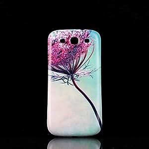 GDW Teléfono Móvil Samsung - Cobertor Posterior - Gráfico/Diseño Especial - para Samsung S3 I9300 Plástico )