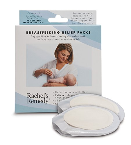 Rachel's Remedy Breastfeeding Relief 2 Pack, Breastfeeding & Nipple Pain, Increase Milk Supply, Clogged Ducts