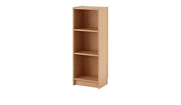 Ikea Billy - Librero, Chapa de Roble - 40x28x106 cm: Amazon ...
