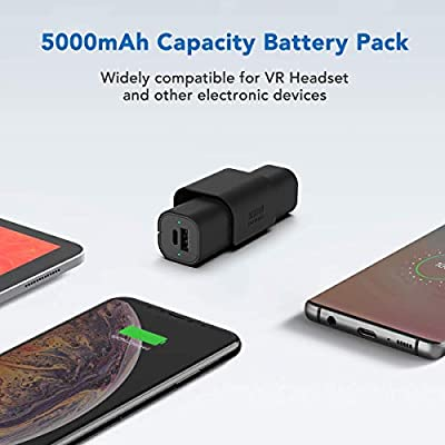 Wearable Technology Electronics & Photo 5000 mAh VR Power ...