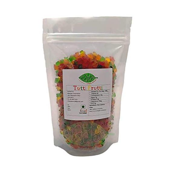 MAAYAA-simple natural Mix Tutti Frutti Bits, 200 Gms