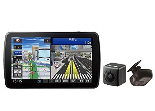 パナソニック9V型ストラーダBlu-ray再生CD録音Bluetooth地デジSDナビCN-F1XD+ドラレコCA-DR02D+バックカメラCY-RC90KDセット B076P7PZ6X