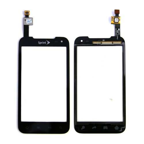 - ePartSolution-OEM LG Viper LS840 Digitizer Touch Screen Outer Top Glass Black Replacement Part USA Seller