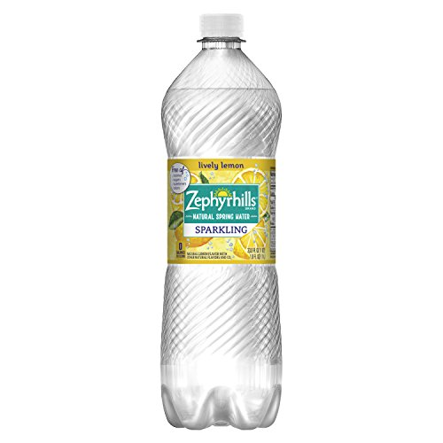 Zephyrhills Sparkling Water, Lemon, 1L