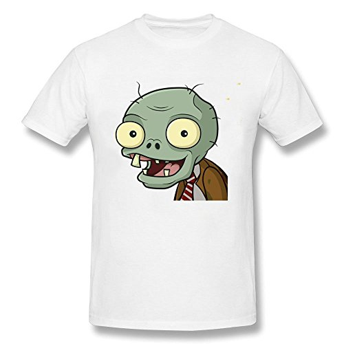 Men's Halloween Zombie Smile Cartoon Funny Short Sleeve (Tegan And Sara Halloween T Shirt)