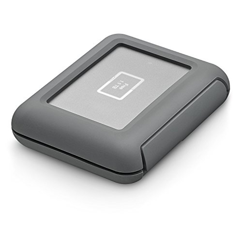 LaCie DJI CoPilot Drive 2TB Portable Drive for Drone Footage -with Integrated Status Screen and SD Card Slot (STGU2000400) by Seagate (Image #1)
