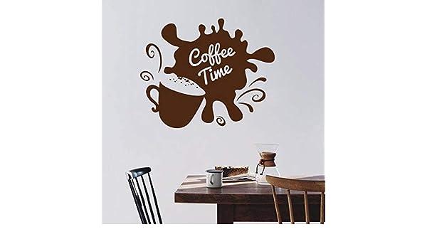 Tianpengyuanshuai Tatuajes de Pared Taza de café Cafe Cocina ...