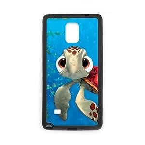 Squirt De Finding Nemo funda Samsung Galaxy Note 4 Cell Phone caso funda T8Q4PGGTMS negro