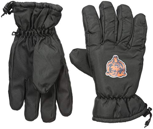 - Chicago Bears Black Printed Logo Insulated Gloves - Small/Medium