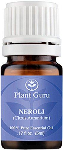 Neroli Essential Oil (Citrus Aurantium) 5 ml. 100% Pure, Undiluted, Therapeutic Grade.