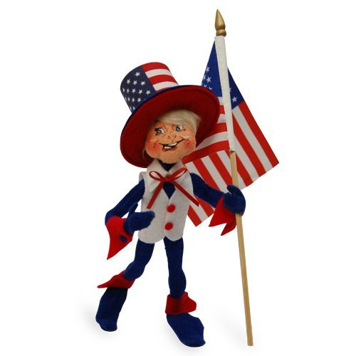 Annalee - 9in Patriotic - Annalee Elf Dolls
