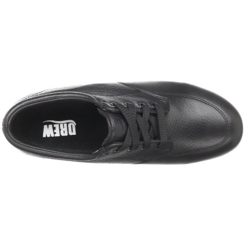Drew Shoe Womens New Villager Lace-up Oxford, Black Soft Pebble, 7 Xw Us