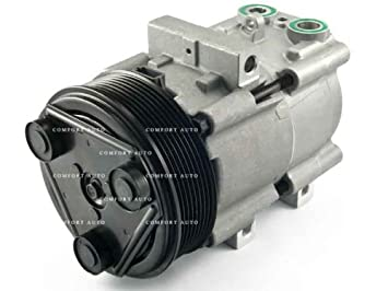 New AC Compressor With 1 year Warranty: 1997 - 2007 Ford F150 F250 F250  SUPER DUTY F350 SUPER DUTY F450 SUPER DUTY F550 SUPER DUTY Pickup