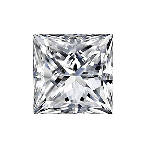 Loose Diamonds Princess Vvs1 - GIA Certified Natural 0.72 Carat Princess Diamond with I Color & VVS1 Clarity