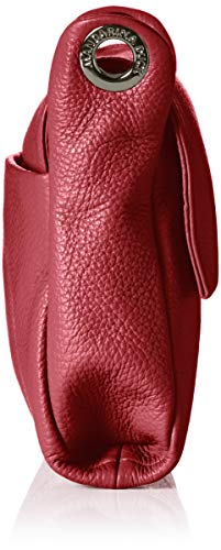Rot hombro y Red Duck Shoppers Mellow de Leather Tracolla Mujer bolsos Plum Mandarina BvgSq8g