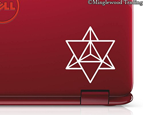 Minglewood Trading SKY BLUE - 2x MERKABA STAR TETRAHEDRON 2.5