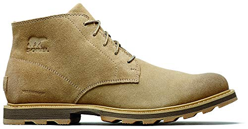 SOREL - Men's Madson Chukka Waterproof Boots, Suede, Crouton, 7.5 M US