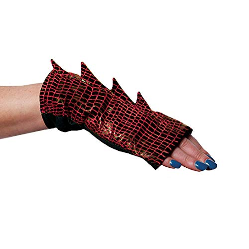 Adult Dragon Tail Costume Accessory, Red -