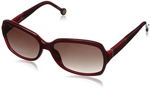 carolina-herrera-womens-she538-9ry-square-sunglassesred-cranberry58-mm
