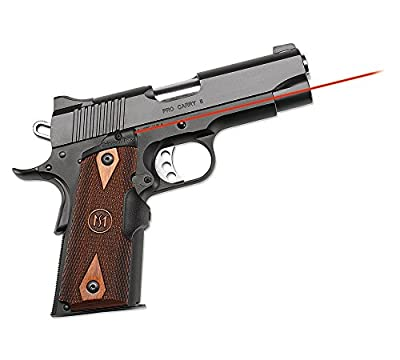 Crimson Trace LG-921 1911 Officer's/Compact/Defender, Cocobolo Diamond Pattern by Green Supply