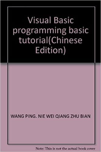 Visual Basic programming basic tutorial(Chinese Edition