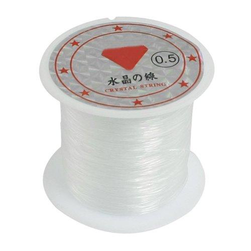 Sonline 41 Lbs Kapazitaet 0,5 mm Durchmesser Klar Nylon Angelschnur Schnurspule