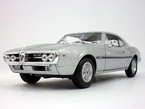 Pontiac Firebird (1967) 1/24 Scale Diecast Metal Car Model - SILVER ()