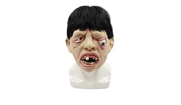 Lookhy Máscara de látex para Halloween, máscara de Espeluznante ...