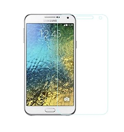 tempered glass samsung e7 <span available at Amazon for Rs.199