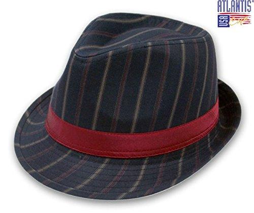Zenit Bleu marine Taille S/M (55cm–57cm)/chapeau Fedora Trilby Bonnet d'hiver
