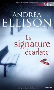 La signature écarlate par Ellison