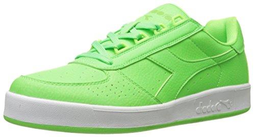 Kirkkaan Flash B Eliitti Green Diadora B Diadora Flash Tennis Men's Miesten Shoe Bright Vihreä Tenniskenkä Elite IxZS7Bn