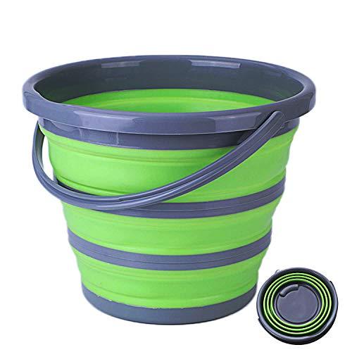 [해외]폴딩 소프트 물통 낚시 물통 10L 강화 생활 용품 청소 세탁 소형 수납 도어 잡화 차량용 물통 낚시 물통 미끼 양동이 다기능 편리한 접이식 물통 / Folding Soft Bucket Fishing Bucket 10L Strengthen Household Goods Cleaning Laundry Compact St...