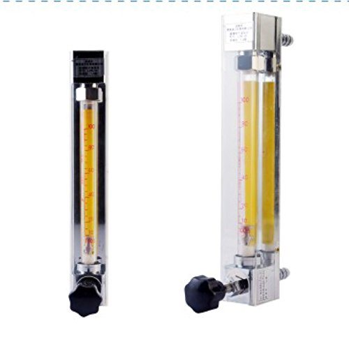 LZB -3, glass rotameter flow meter with control valve for water/air/gas/liquid (0.1-1L/min for (0.1 Liquid)