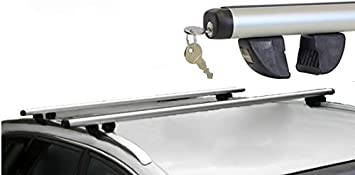 Lockable Roof Bars to Fit Volvo XC90 5 Dr 02-13