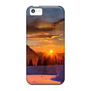 YFC16326qguh Winter Sunset Winter Awesome High Quality Iphone 5c Case Skin