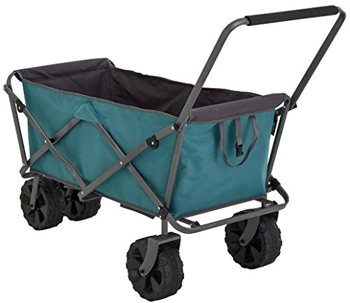 Uquip Buddy - Beach Wagon Heavy Duty Cart with Big Wheels, Collapsible...