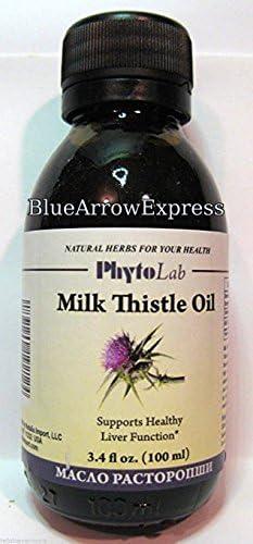 Milk Thistle Oil - Liver Tonic Excellent Detox 3.4 oz by BlueArrowExpress