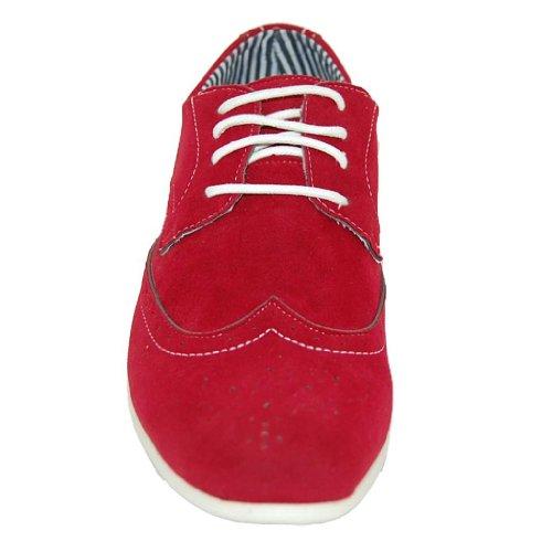 Zapatos Sexy Wingman Red Hot Hombres Oxfords