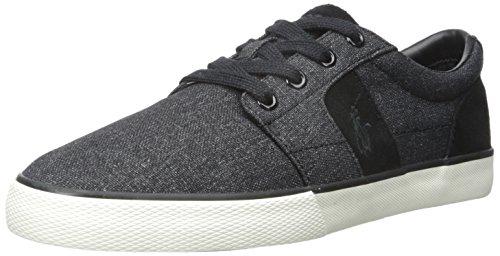 Polo Ralph Lauren Mens Halmore Nylon Mode Sneaker Svart