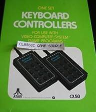 2 Atari Keyboard Controllers for 2600 7800 Cx50