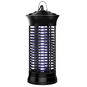 EYECLUB Indoor Electronic Mosquito Killer, Bug Zapper, 110v UV Light Bulb, Low Power Consumption, No Chemical Insect Killer for Home, Garden, Yard, Kitchen