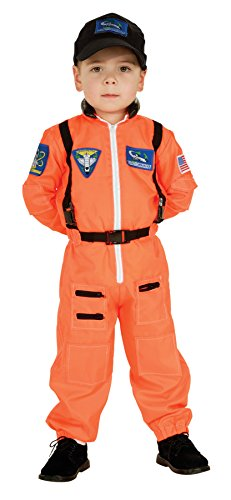 UHC Boy's Astronaut Toddler Space Suit Career Nasa Fancy Dress Child Costume, 2T-4T