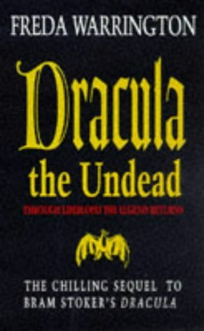 Dracula Undead Freda Warrington product image