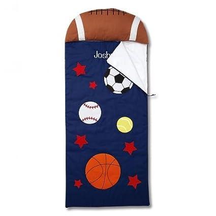 Amazoncom Lillian Vernon Sports Personalized Kids Sleeping Bag