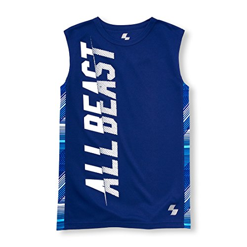 The Children's Place Big Boys' Tank Top, Inked 99832, M (7/8) by The Children's Place (Image #1)