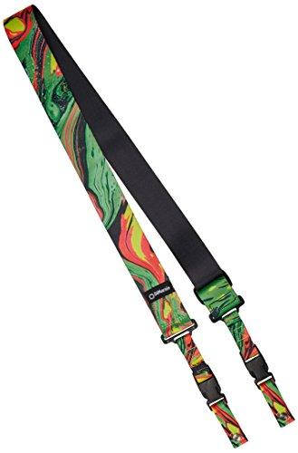 DiMarzio Steve Vai Strap ClipLock Strap - Green Universe